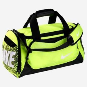 Nike Neon Green Duffle Bag